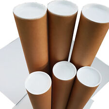 1- 1040x90x1.8mm High Quality Brown Kraft Mailing Tubes Shipping in Melbourne