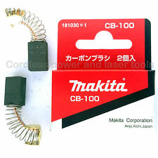 Makita PC1100 Concrete Planer CB100 Carbon Brushes Genuine Original 181030-1
