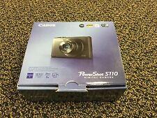 NEW Canon PowerShot S110 Digital Camera BLACK