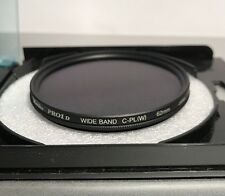 Genuine Kenko 62mm Pro1D Wide Band C-PL(W) Polarizing Lens Filter (Clean Glass)