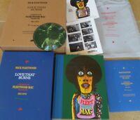 LOVE THAT BURNS Deluxe Mick FLEETWOOD MAC GENESIS PUBLICATIONS SIGNED BOOK NEW