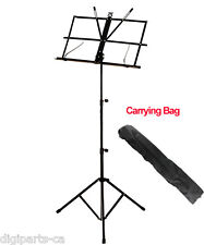 Bison Prosound Compact & Portable Music Stand with carrying bag
