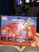 Mega Construx Heroes Battle of Eternia Collection 5-Piece Figure Set DEALS