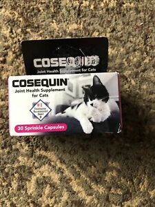 Cosequin Joint Health Supplement For Cats 30 Sprinkle Capsules | Exp 09/24 READ