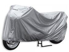 Motorcycle Cover Folding Garage Sz L Silver Waterproof NEW