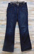 Express Jeans 5/6 x 32 Junior's Precision fit Flare leg 100% cotton      (E-22)