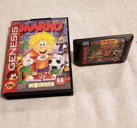 MARKO SEGA GENESIS VIDEO GAME CART IN CASE