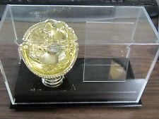 BCW 1 GOLD GLOVE BALL & CARD HOLDER ACRYLIC