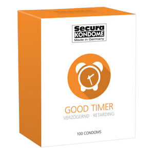 Secura Kondome Good Timer Delay x100 Condoms Fast And Free Delivery