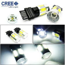 2x CREE XR-E LED 3157 3156 For FORD Projector Backup Reverse Light Bulb White
