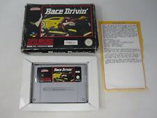Race Drivin' - Nintendo SNES (PAL) Game Boxed
