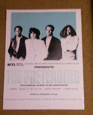 # the Pretenders- Concert poster Lyoming College 1987 Penn.