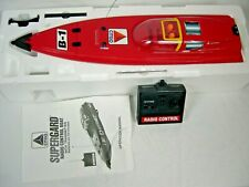 Rc Boat - Citgo Superguard Welcraft Scarab - Red