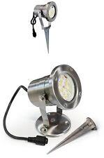IP 67 10 W warmweiß Easy Connect LED-Strahler  65350 Aluminium schwarz