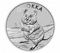 Australia 2020 $1 Perth Mint Quokka 1oz Silver Bullion Coin Capsuled