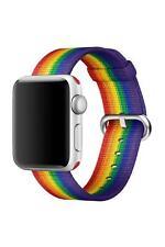 Genuine Apple Watch Nylon Strap Band (38mm / 40mm) - 2017 Pride Edition - New