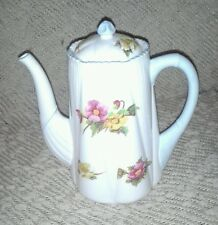 Shelley Begonia Flower Fine Bone China Dainty Shape Coffee Tea Pot