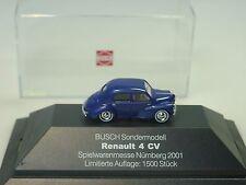 Busch renault 4cv, messe Nuremberg 2001, Limited - 1/87