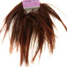 Spiky Short Straight Hair Tie Scrunchie-Ponytail Holder-Lulu - Over 30 Colors!