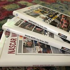Nascar Nextel Winston Cup Series Yearbooks Lot Of 3 Years 2002 03 04, Euc