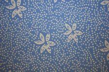 Blue White Floral Print #314 Nylon Lycra Spandex 4 Way Stretch Swim Active BTY