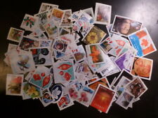 """CANADA, 100 assorted used, uncancelled, """"P"""" stamps"""