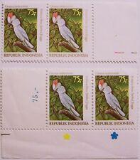 Indonesia 1981 - 2 pairs Birds, Cockatoo MNH (1)