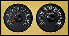 HR-IMOTION History Hygrometer Thermometer GOLD zum aufhängen aufstellen