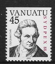VANUATU 1988 SYDPEX CAPTAIN COOK 1v  MNH