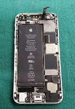 BROKEN REPAIR AS IS Apple iPhone 6 16GB White/Silver AT&T Motherboard Frame