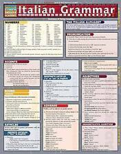 Italian Grammar: Reference Guide by BarCharts (Other book format, 2002)