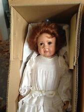 """UK English Cloth Art Doll L. Murray  22""""  Elizabeth # 5/15  Wonderful MIB Doll"""