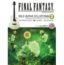 Final Fantasy Solo Guitar Collections #2 sheet music book w/CD