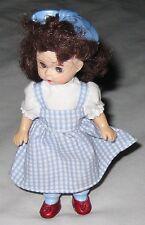 "Madame Alexander Dorothy 5"" Blue Wizard of Oz Doll w Moving Blue Eyes"