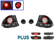 01-05 LEXUS IS300 4DR ALTEZZA LED TAIL LIGHT + SMOKE AMBER & RED LED SIDE MARKER