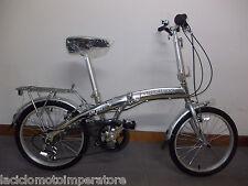 BICICLETTA 20 PIEGHEVOLE CAR-BIKE TELAIO ALLUMINIO CAMBIO SHIMANO 6V BICI BIKE