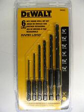 DEWALT 6pc Hex Shank Rapid Load Split Point Drill Bit Set - DW2551