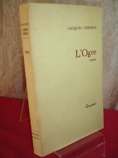 L'OGRE  Jacques Chessex  Roman