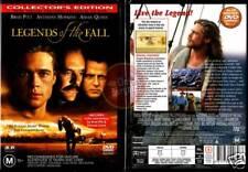 LEGENDS OF THE FALL Brad Pitt, Anthony Hopkins NEW DVD (Region 4 Australia)