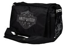 Harley-Davidson® Embroidered Bar & Shield Baby Diaper Bag | Black-Silver 0270306
