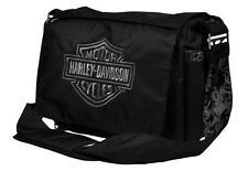 Harley-Davidson® Embroidered Bar & Shield Baby Diaper Bag | Black-Silver 0270306