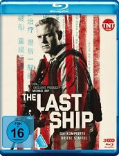 THE LAST SHIP -S3 (ERIC DANE, RHONA MITRA, ADAM BALDWIN) 2 BLU-RAY NEU