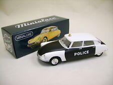 MINIALUXE CITROEN DS 19 POLICE