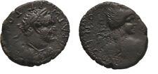 Ancient Rome 69-79 AD LYCAONIA ICONIUM TITUS CAESAR PERSEUS HARPA
