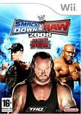 SMACK DOWN VS RAW 2008      -----   pour WII