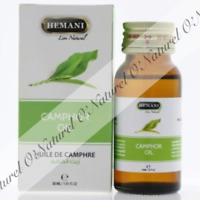 Huile de Camphre 100% Pure & Naturelle 30ml  Camphor Oil, Aceite de Alcanfor