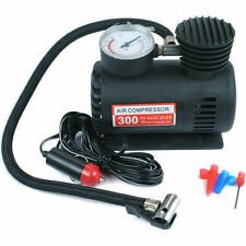 300PSI 12V COMPACT AIR COMPRESSOR PUMP BIKE CAR VAN TYRE INFLATOR BICYCLE BALL