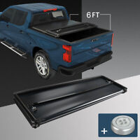 Soft Tri-Fold Tonneau Bed Cover For 2019 2020 2021 Ford Ranger 6 FT Short Bed