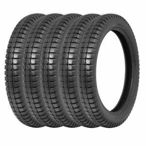 350x19 Longstone Tyres Set of four (5), Austin Seven Tyres