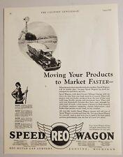 1928 Print Ad REO Speed Wagon Trucks REO Motor Car Co. Lansing,Michigan